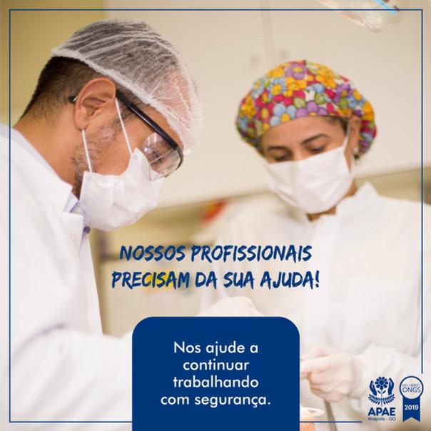 APAE Anápolis realiza campanha de arrecadação durante a pandemia