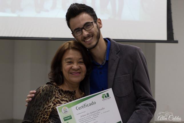Entrega de certificados aos alunos do ID Digital da APAE Anápolis