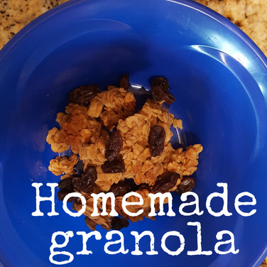 Home made granola