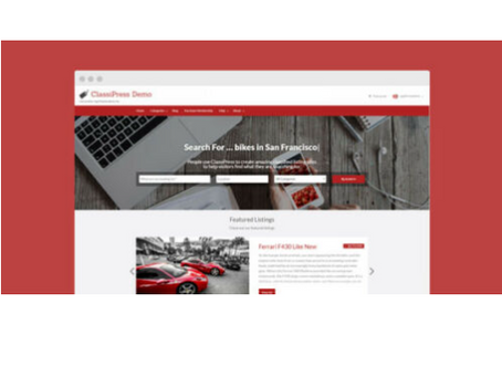 ClassiPress – The Bestselling Classifieds Theme For WordPress