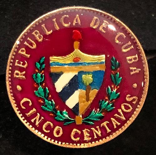 CUBA - CINCO CENTAVOS
