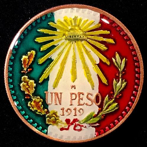 MEXICO - UN PESO - 1919