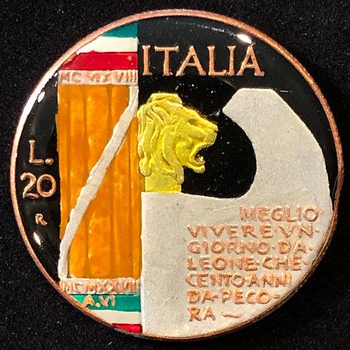 ITALY - 20 LIRE