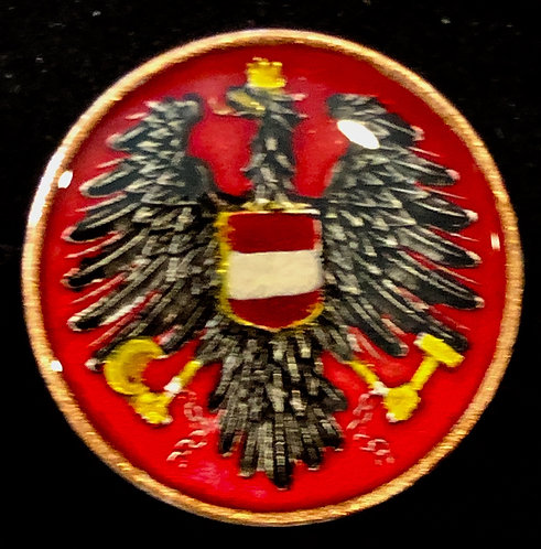 AUSTRIA - EAGLE WITH CREST