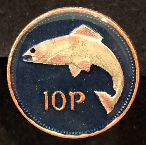 IRELAND - 10 PENCE - FISH