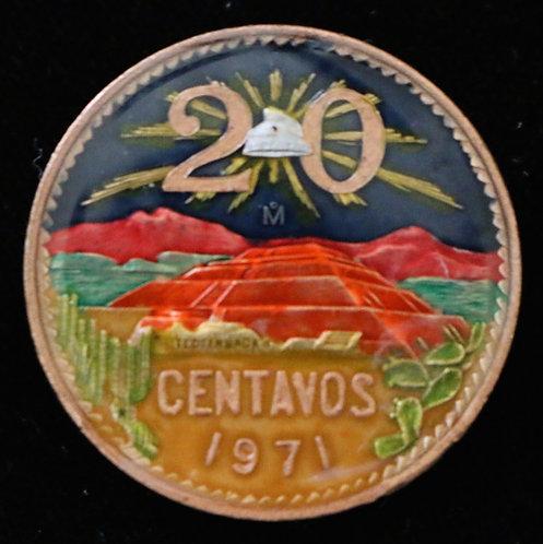 MEXICO - 20 CENTAVOS