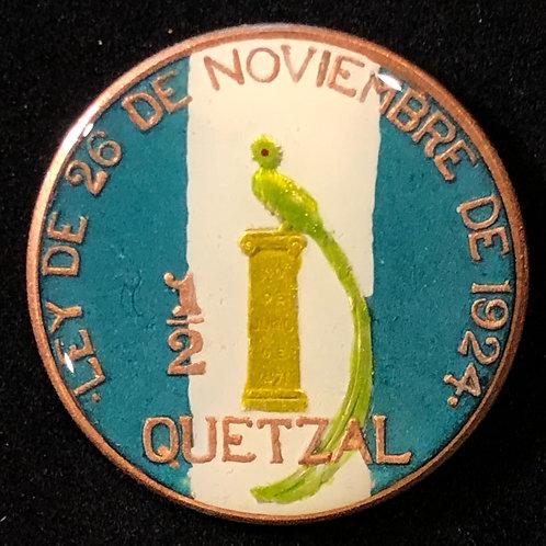 GUATEMALA - 1/2 QUETZAL