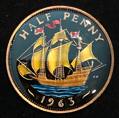 GREAT BRITAIN - HALF PENNY
