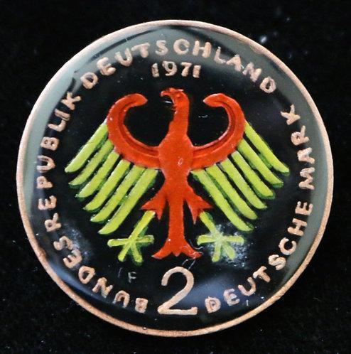 GERMANY - 2 DEUTSCHE MARK