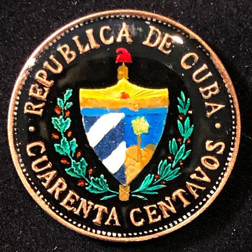 CUBA - CUARENTA CENTAVOS