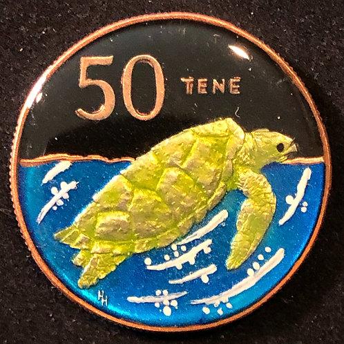 COOK ISLANDS - 50 CENT