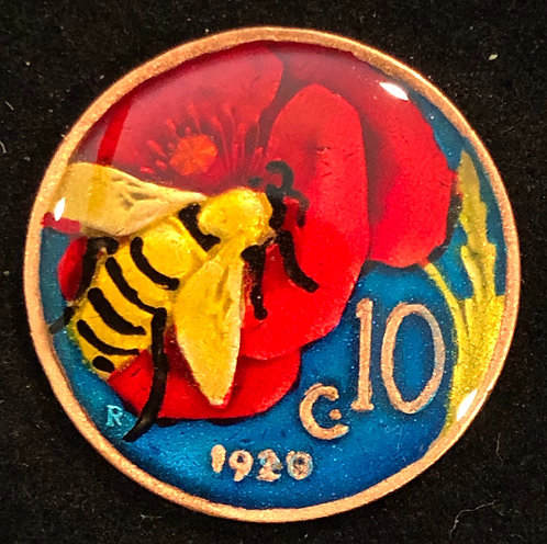 ITALY - BEE - 10 CENT