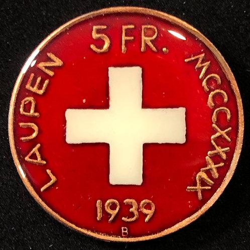 SWITZERLAND - 5 FRANC 1939