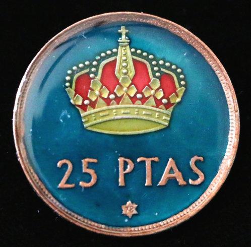 SPAIN - 25 PESETAS