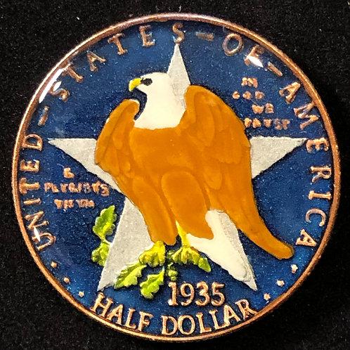 TEXAS - STATE HALF DOLLAR