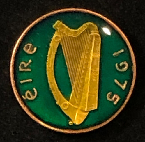 IRELAND - HARP (GREEN BKGD)