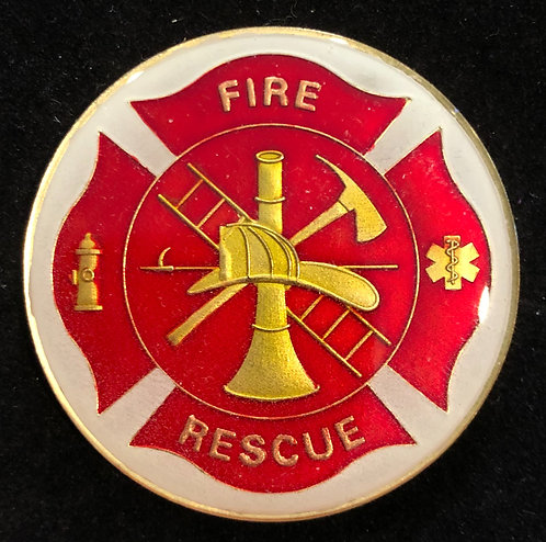 FIRE & RESCUE CHALLENGE COIN