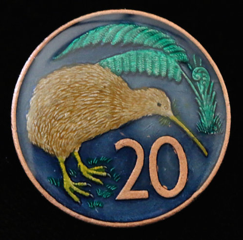 NEW ZEALAND - 20 CENT