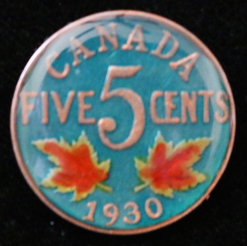 CANADA KING GEORGE V NICKEL