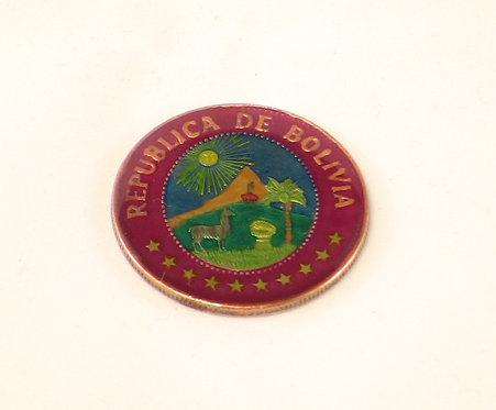BOLIVIA - 1 PESO