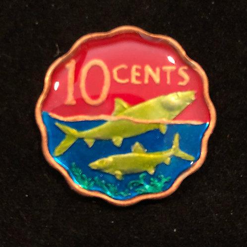 BAHAMAS - FISH - 10 CENT