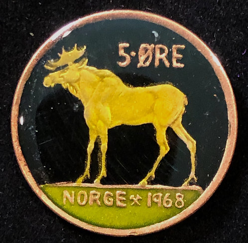 NORWAY - 5 ORE (MOOSE)