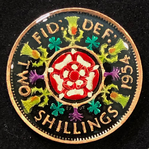 GREAT BRITAIN - TWO SHILLINGS