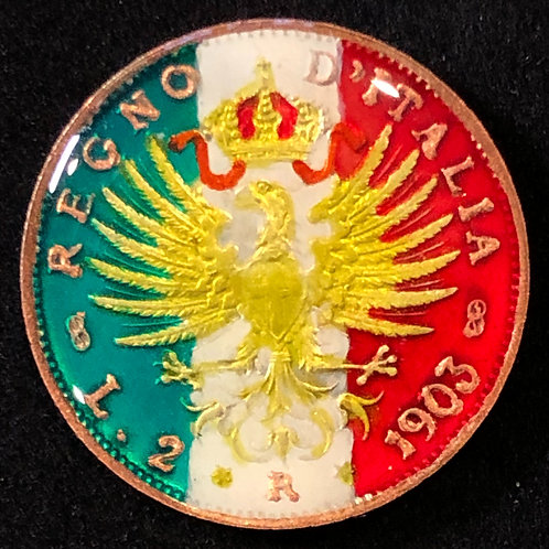 ITALY - 2 LIRE (EAGLE)