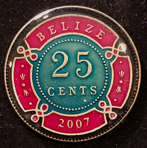 BELIZE - 25 CENT