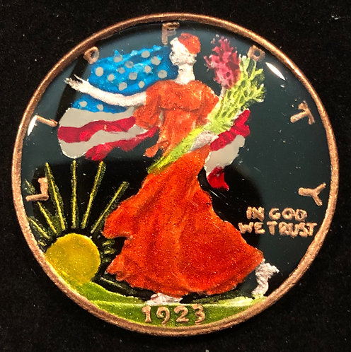 WALKING LADY LIBERTY - HALF DOLLAR