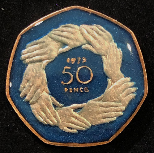 GREAT BRITAIN - 50 PENCE (HANDS)