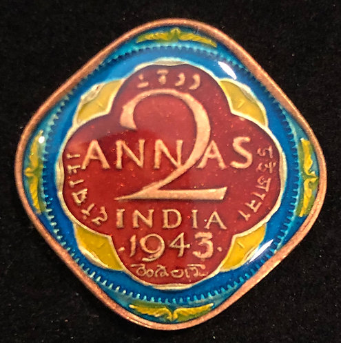 INDIA - 2 ANNAS