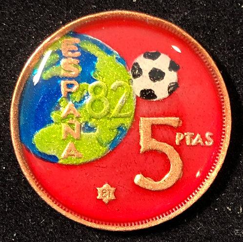 SPAIN - 5 PTAS