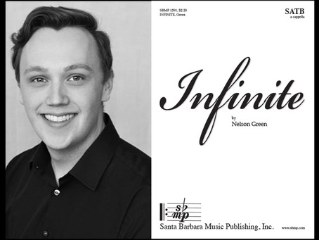 Nelson Green publishes his first choral work!