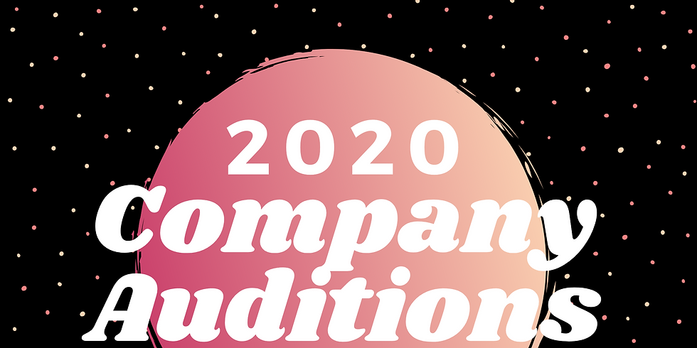 6th-8th Company Auditions 2020