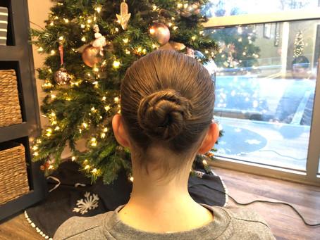 Christmas Show Hair and Makeup