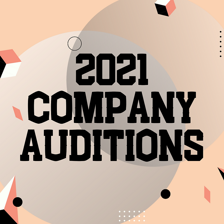 K - 5th Company Auditions 2021
