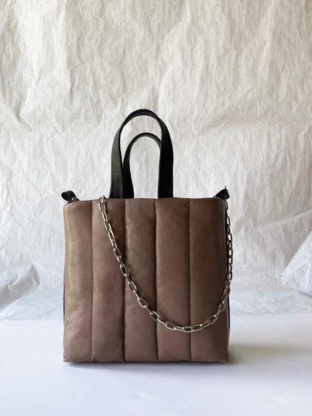 taupe puffy leather bag.jpg