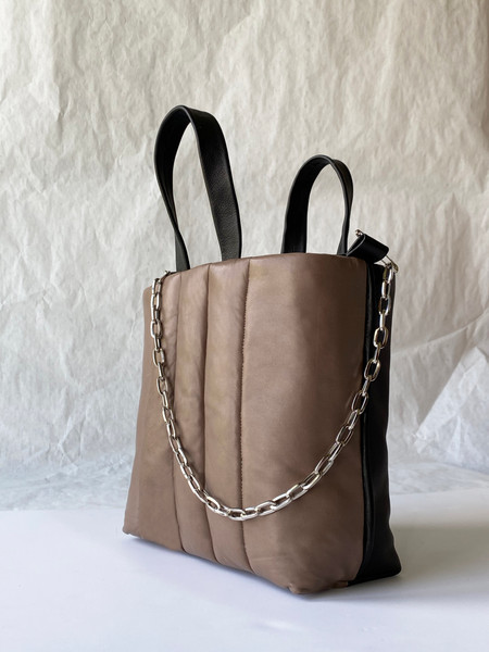taupe side puffy leather bag.jpg