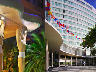 Fountainbleau and Casablanca Hotels Miami Beach