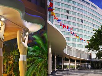 Fountainbleau and Casablanca Hotels Miami Beach