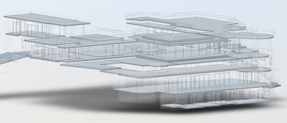 Flooring layer of BIM