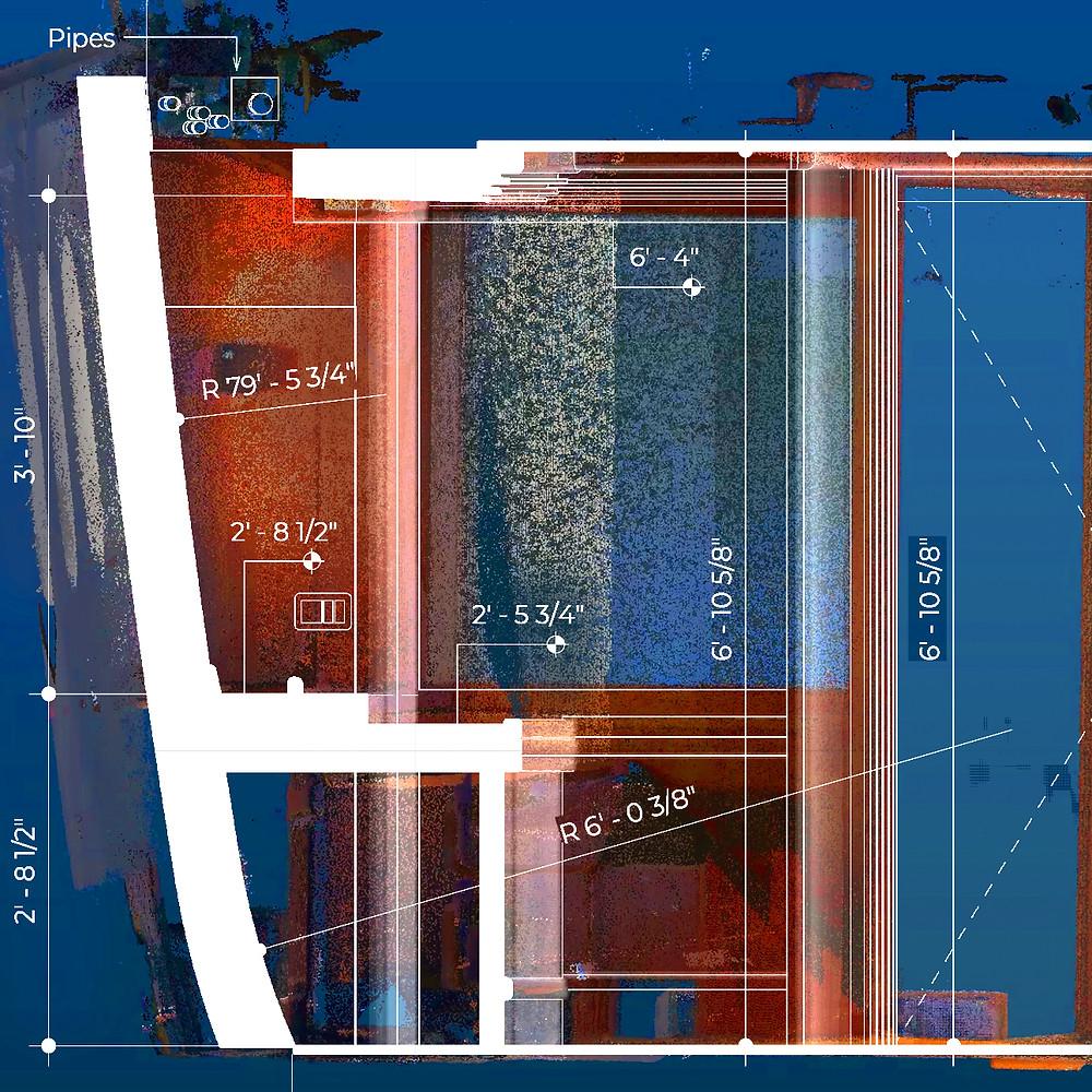 hull radius drafted 3d scan revit