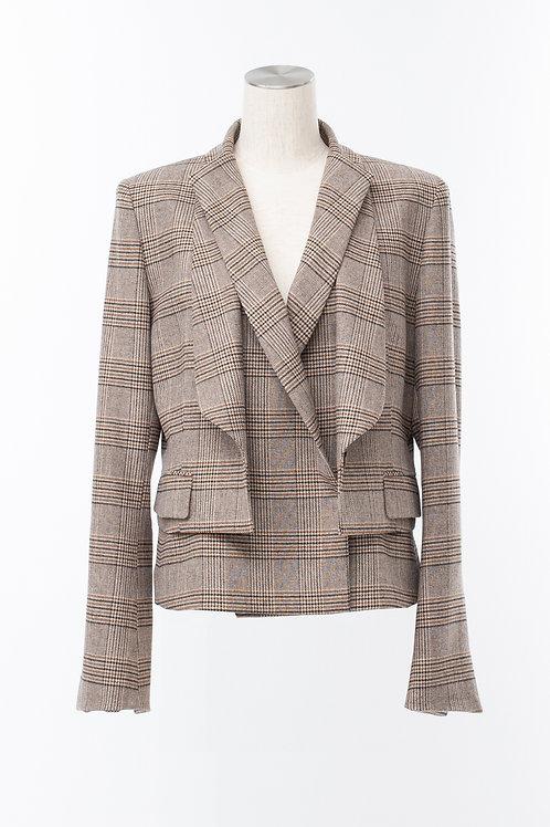 Dual  check jacket