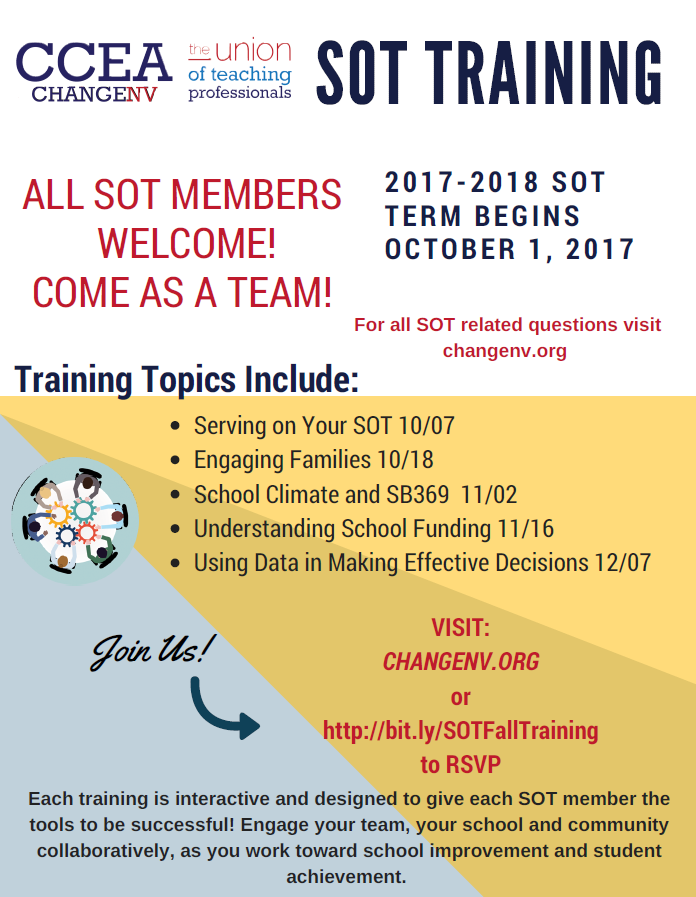 SOT Fall Training 2017