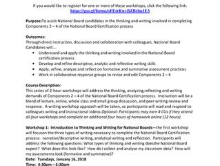 Nation Board Candidate Workshops