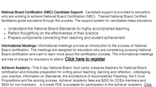 CCEA's National Board Certification Program 2018-2019