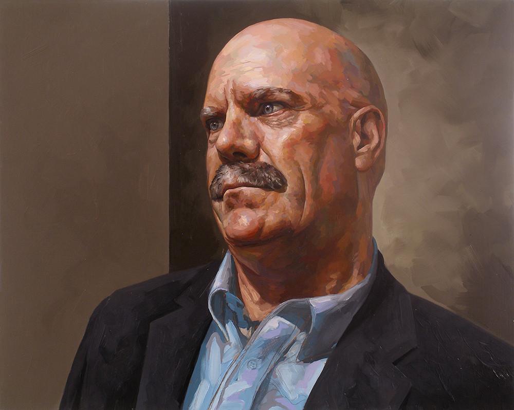 Portrait of David Roman