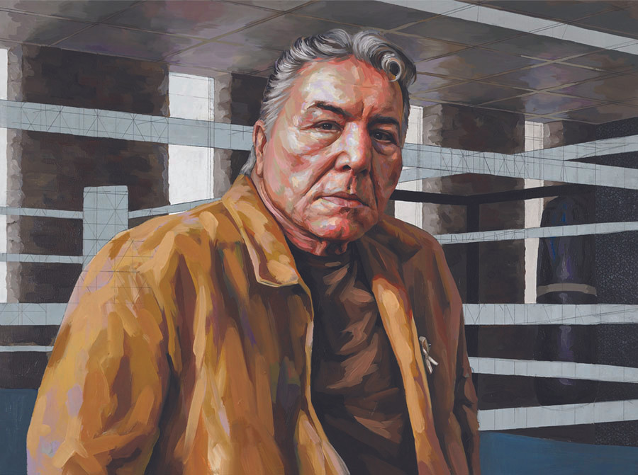 Portrait of George Chuvalo