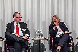 mit Ex-Bundesjustizministerin Leutheusser-Schnarrenberger (FDP)